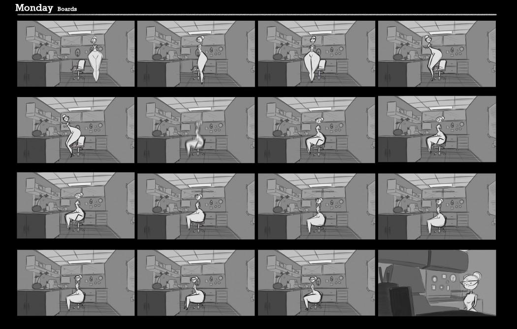 Monday Storyboards